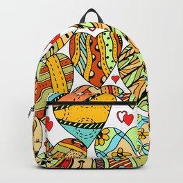 Heart Pattern Backpack