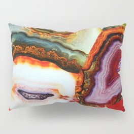 Agate, the Layers of our Earth Pillow Sham