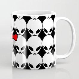 Alien Amidst Aliens Coffee Mug