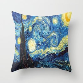 stary night re do Throw Pillow