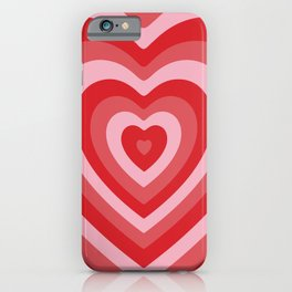 Hypnotic Hearts iPhone Case