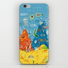 Plastic Sea iPhone Skin
