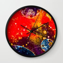 Space 2 Wall Clock