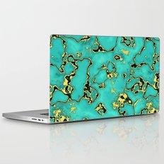 GOLD TURQUOISE Laptop & iPad Skin
