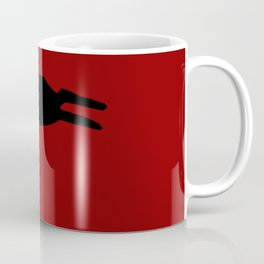 Black Rabbit Coffee Mug