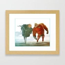 Incredibly Despicable Framed Art Print