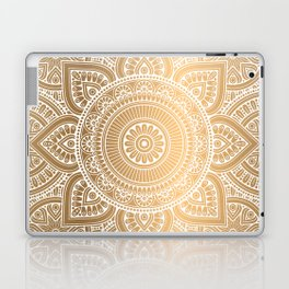 Gold Mandala 3 Laptop & iPad Skin
