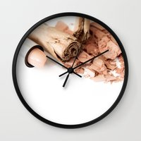 makeup Wall Clocks featuring Makeup 01 by VanessaGF