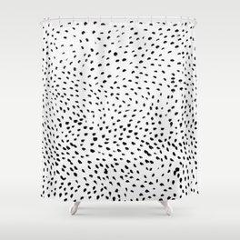 Dots 02 Shower Curtain