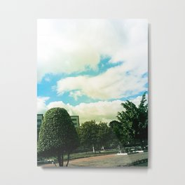 Trees and Chaos Metal Print