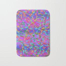 Multicolor Barbwire Bath Mat