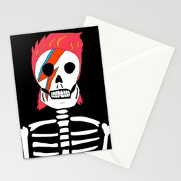 Skeletor Bowie Stationery Cards