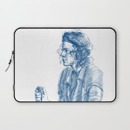 harry in blue Laptop Sleeve