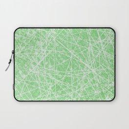 Green Web Lime Light Laptop Sleeve