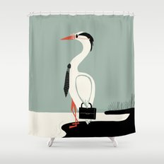 Back to work Shower Curtain