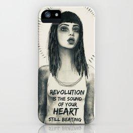 revolution girl iPhone Case