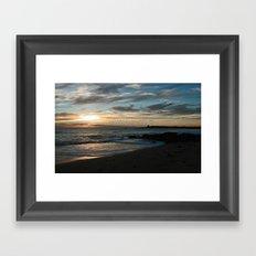 Sunrise over Bass Strait - Tasmania - Australia Framed Art Print