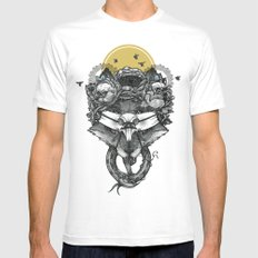 The Count Bifrons MEDIUM Mens Fitted Tee White