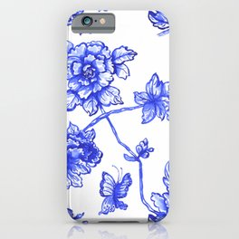 Chinoiserie Floral iPhone Case