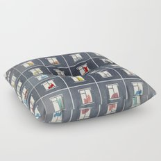 hotel for cats Floor Pillow