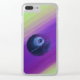Revenge Of Space Balls with poem:  Game Plan For Crazy Clear iPhone Case