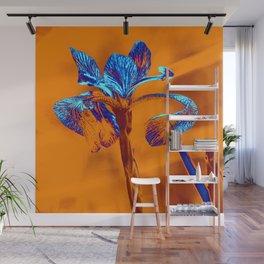 Glowing Iris... Wall Mural