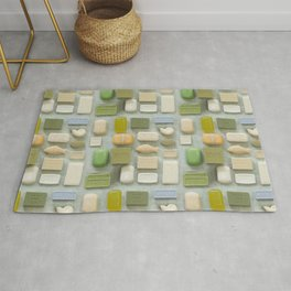 Soap Collection Spa Wellness Photography Rug