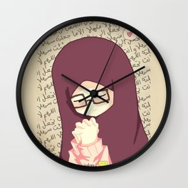 Pray for Success in Examination Wall Clock