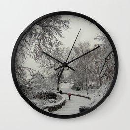 Curvature. Wall Clock