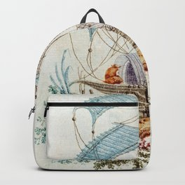 Chinoiserie Embroidery Backpack