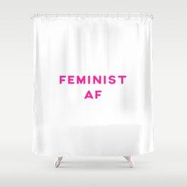 Feminist AF Aesthetic Shower Curtain