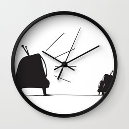 Rules of obedience Wall Clock