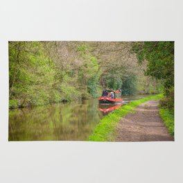 Leeds and Liverpool Canal Rug
