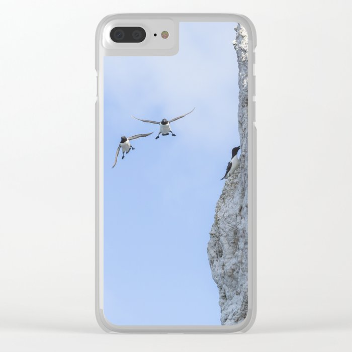 Aborted landing Clear iPhone Case