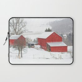 Amish Barns Laptop Sleeve