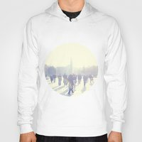 istanbul Hoodies featuring White İstanbul by josemanuelerre