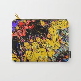Shifting Shapes And Colors Carry-All Pouch