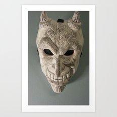 celtic demon Art Print