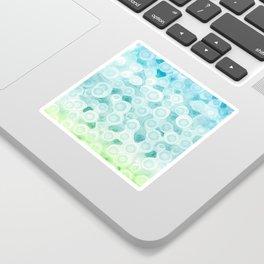 Dotted Seafoam Sticker