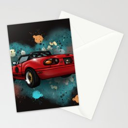 Racecar Stationery Cards