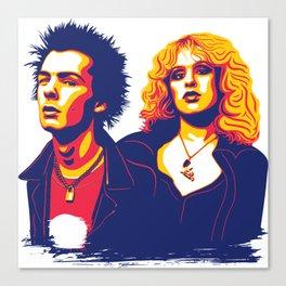 Sid & Nancy Canvas Print