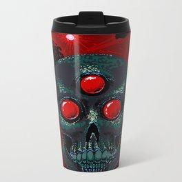 Horror From Beyond Time and Spaaaaaaace! Metal Travel Mug