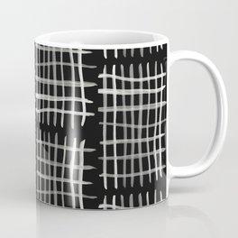 Hashtag, Black Coffee Mug