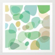 Sea Pebbles Art Print