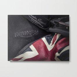 Triumph Motorcycles Metal Print