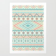 Friendship Bracelet Art Print