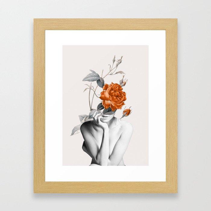 Rose 3 Gerahmter Kunstdruck