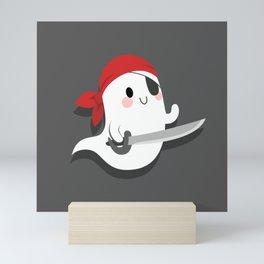 Friendly Pirate Ghost Mini Art Print
