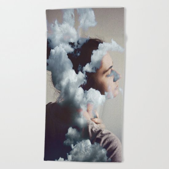 Where is my mind? no.6 Beach Towel