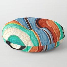 The Kandinsky's Chubby Bird 1 Floor Pillow